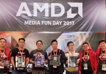 Keseruan AMD Media Fun Day 2017 !!!